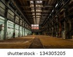 Industrial Interior Of A...