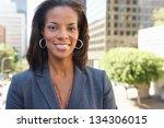 Portrait Of Businesswoman...