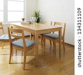 dining room | Shutterstock . vector #134311109