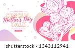 modern template design for mom... | Shutterstock .eps vector #1343112941