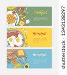 set of hand drawn banner... | Shutterstock .eps vector #1343138297