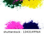 colors of indian festival holi  ... | Shutterstock . vector #1343149964