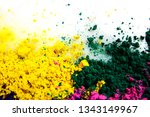 colors of indian festival holi  ... | Shutterstock . vector #1343149967