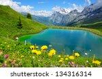 Beautiful Mountain Scenery Wit...