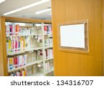 Interior Of Library With Book...