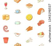 food images. background for... | Shutterstock .eps vector #1343198537