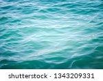 blue sea wave ripple curl water ...   Shutterstock . vector #1343209331