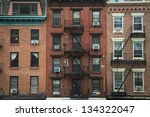 Old Apartment Buildings And...