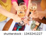 close up of female hands... | Shutterstock . vector #1343241227