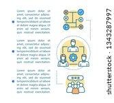 workforce article page vector... | Shutterstock .eps vector #1343287997