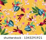 mustard and yellow color bright ...   Shutterstock . vector #1343291921