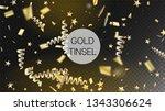 modern new year confetti...   Shutterstock .eps vector #1343306624