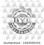 bye retro style grey emblem... | Shutterstock .eps vector #1343330141