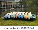 kayak in park | Shutterstock . vector #134335064