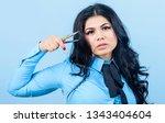 lash applicator. eyelash... | Shutterstock . vector #1343404604