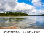 Beautiful sea and coastal view, Linlo, Finland