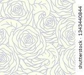 vector seamless pattern... | Shutterstock .eps vector #1343440844