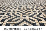 lisbon   july 3  2018  typical...   Shutterstock . vector #1343561957