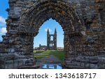 saint andrew's cathedral ... | Shutterstock . vector #1343618717