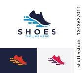 shoes logo icon   Shutterstock .eps vector #1343637011