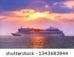 Luxury Cruise Ship. Beautiful...