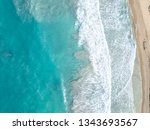 dominican republic   wild beach ... | Shutterstock . vector #1343693567