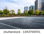 panoramic skyline and modern... | Shutterstock . vector #1343700551