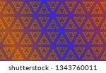 modern stylish texture....   Shutterstock .eps vector #1343760011