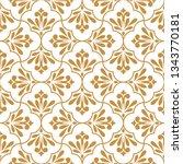 flower geometric pattern.... | Shutterstock . vector #1343770181