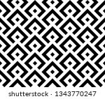 abstract geometric pattern. a... | Shutterstock . vector #1343770247