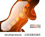 abstract business background  ... | Shutterstock .eps vector #134380385