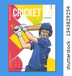 vector illustration of a... | Shutterstock .eps vector #1343829254