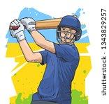 vector illustration of a... | Shutterstock .eps vector #1343829257