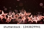 retro stars abstract background ... | Shutterstock .eps vector #1343829941