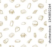 food images. background for... | Shutterstock .eps vector #1343852264
