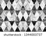 Black And White Marble In The...