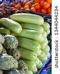 variety of vegetables in street ...
