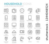 collection of household line...   Shutterstock .eps vector #1344048524