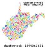 mosaic technical west virginia... | Shutterstock .eps vector #1344061631
