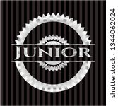 junior silver emblem or badge | Shutterstock .eps vector #1344062024