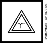 illustration  junction of bend...   Shutterstock . vector #1344073421