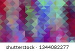 geometric design. colorful...   Shutterstock .eps vector #1344082277
