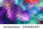 geometric design. colorful...   Shutterstock .eps vector #1344082307