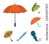 vector illustration of umbrella ...   Shutterstock .eps vector #1344107507