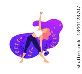 illustrations for beauty  spa ... | Shutterstock .eps vector #1344123707