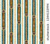 golden chain  belt glamour...   Shutterstock . vector #1344133994