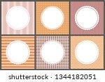 pastel color gentle posters...   Shutterstock .eps vector #1344182051