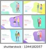 how to build happy relationship ...   Shutterstock .eps vector #1344182057