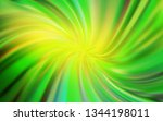 light green  yellow vector... | Shutterstock .eps vector #1344198011