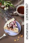 a piece of delicious summer...   Shutterstock . vector #1344206567